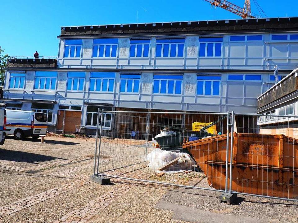 Die Gemeinschaftsschule ist nach wie vor eine Baustelle.    Foto: Herbert Frey