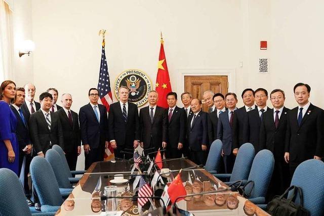 USA verkünden Einigung auf Handels-Teilabkommen mit China