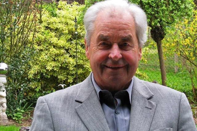 Helmut Huber ist neuer Ehrenbürger von Wehr