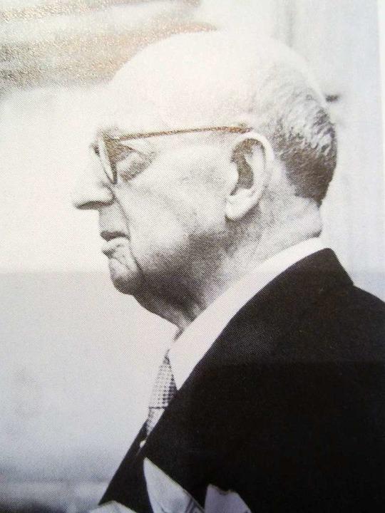 ... und Georg van Eyck gehören zu jene...ie Ehrenbürgerschaft verliehen wurde.     Foto: Hansjörg Bader