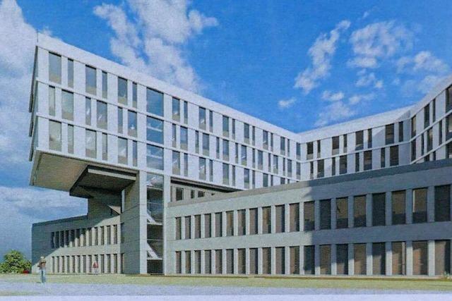 Der Bau des Zentralklinikums soll im Herbst 2020 beginnen