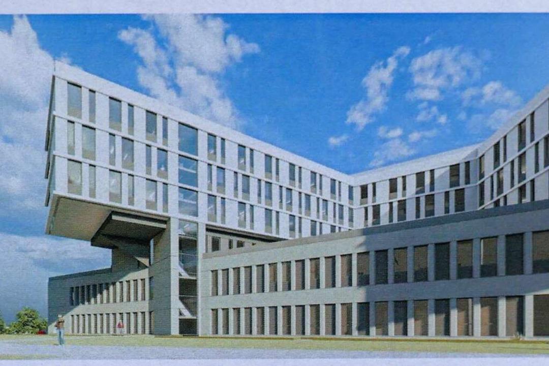 Teilansicht des Zentralklinikums    Foto: a sh Architekten