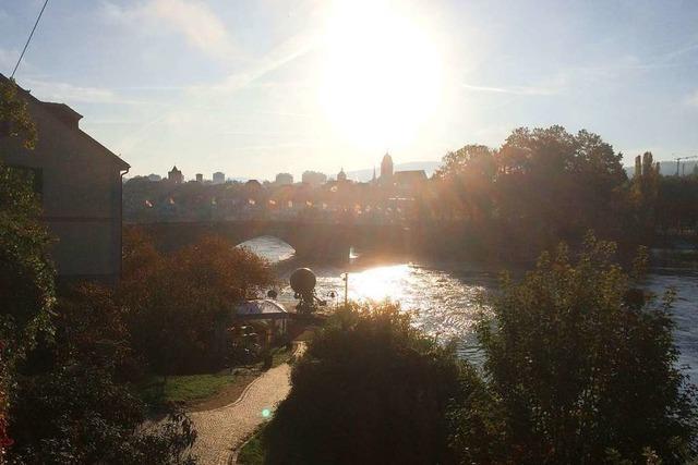Goldener Oktober in Rheinfelden