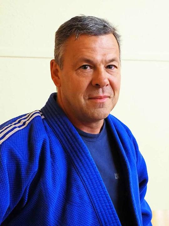 Judo-Enthusiast Rene Tscharntke  | Foto: Herbert Frey