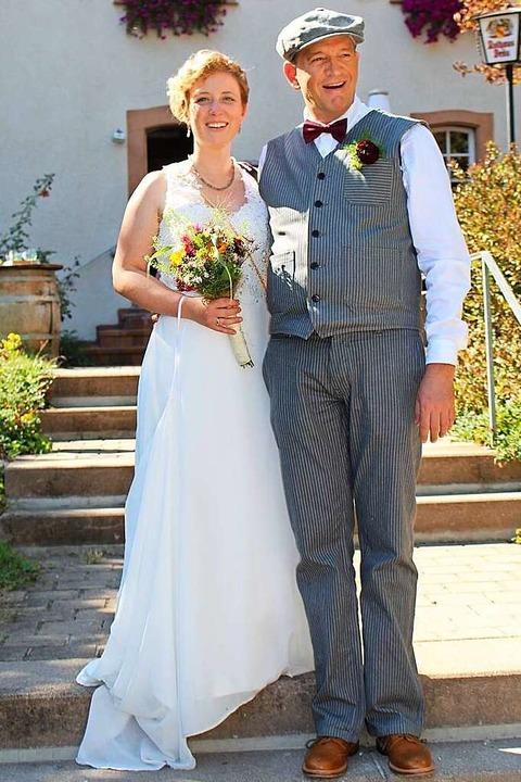 Selina  und Hans-Uwe Läufer haben vor ... war und er ihr  Stammzellen spendete.  | Foto: privat