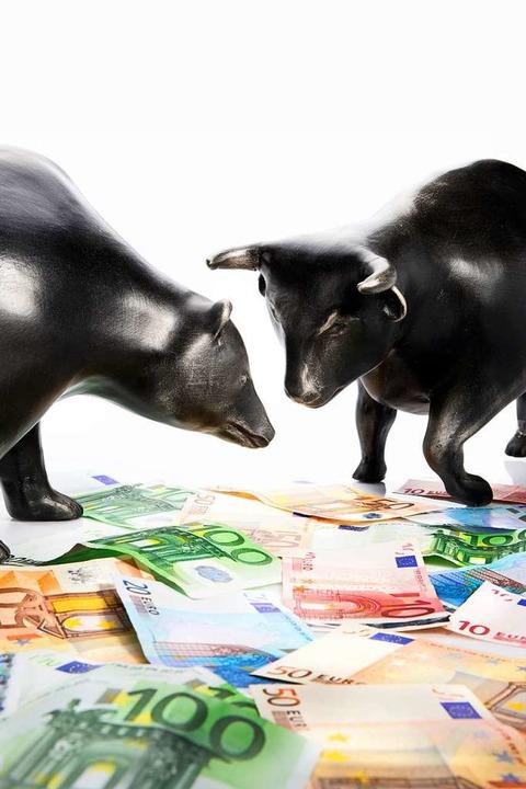 In welche Richtung geht der Aktienmark...ende Kurse, der Bulle steigende Kurse.  | Foto: Chairman