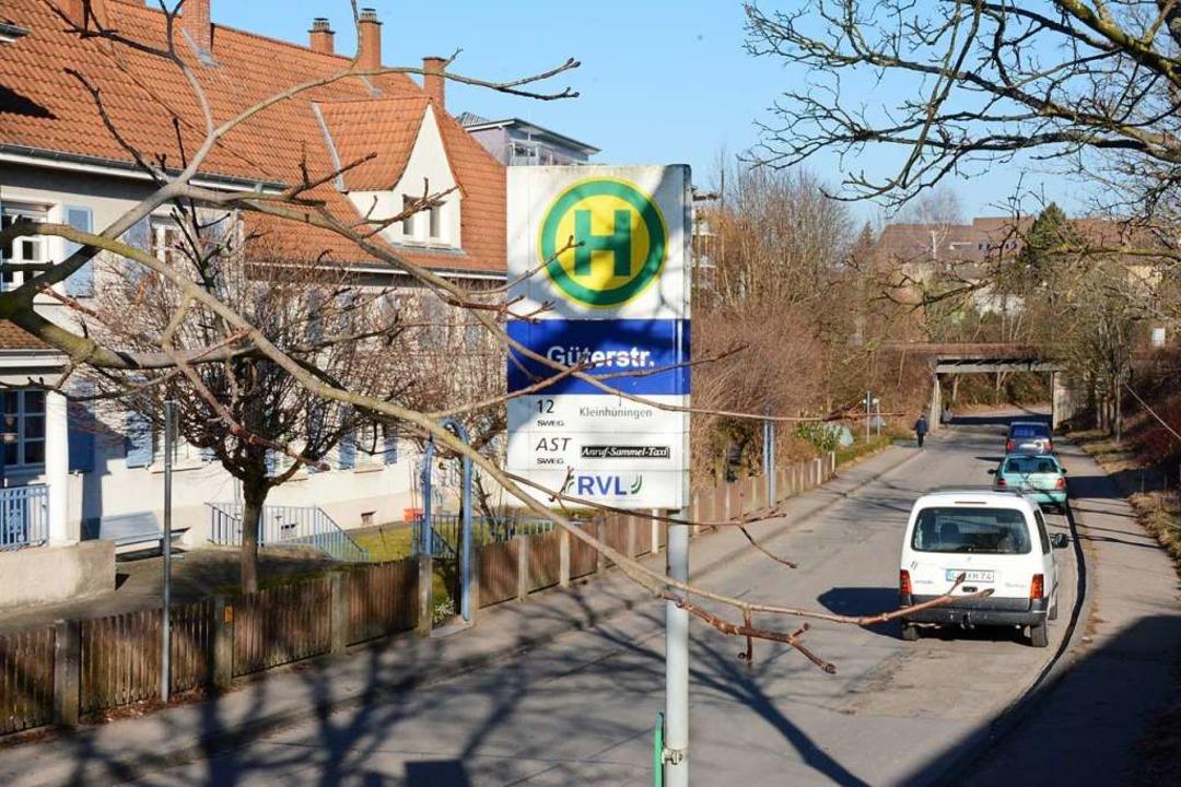 Die Anlieger der Güterstraße wollen keine Erschließungsgebühren zahlen.    Foto: Hannes Lauber