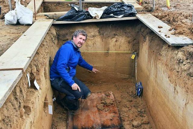 Archäologen finden bei Müllheim Spuren der Neandertaler