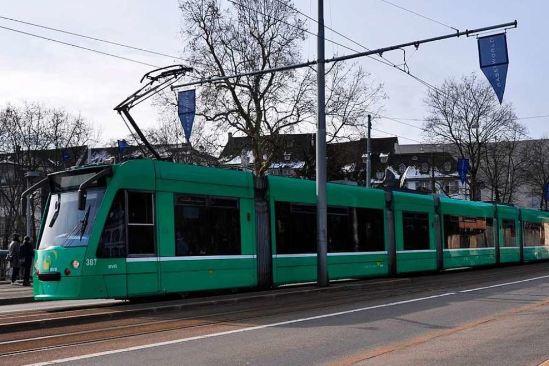 Eine Tram der Linie 2 wurde in einen Unfall verwickelt (Symbolbild).  | Foto: Daniel Gramespacher