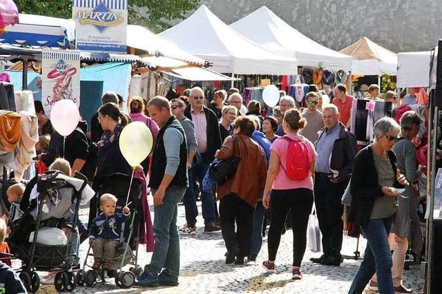 Hela und Apfelmarkt sind Besuchermagneten in Laufenburg