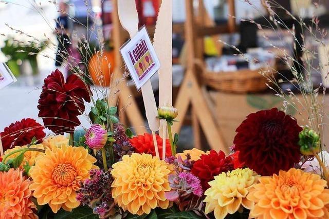 Fotos: Genussmeile in der Innenstadt von Endingen bei