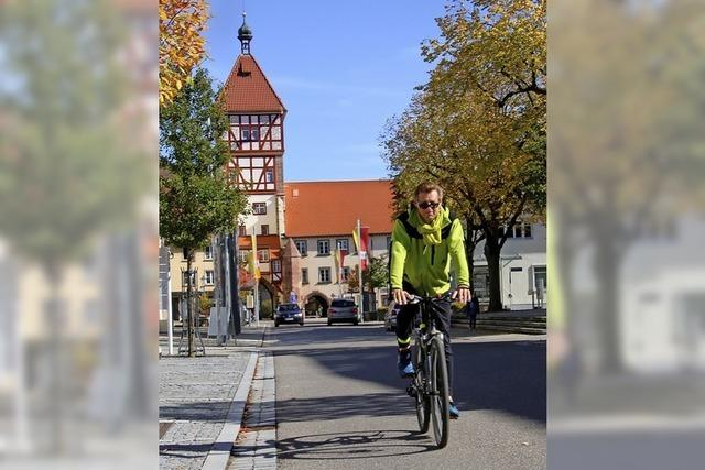Mehr Sicherheit für Radfahrer in der Altstadt