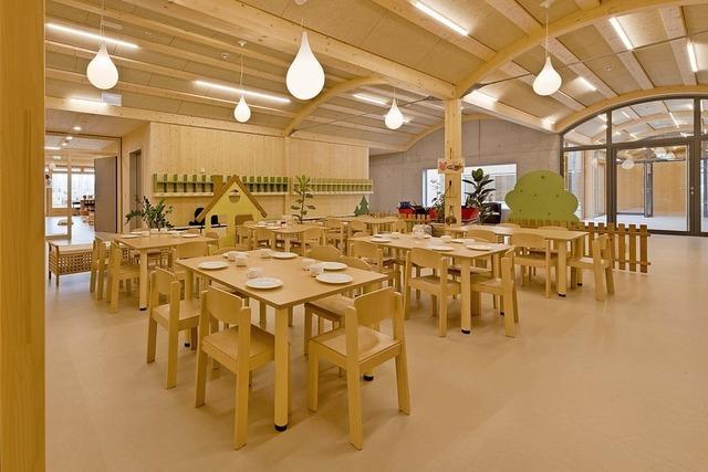 Kita im Bürgerpark erhält badischen Architekturpreis