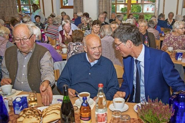 Gemeinde feiert mit Senioren