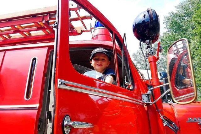 Siebenjähriger bewirbt sich bei der Berufsfeuerwehr