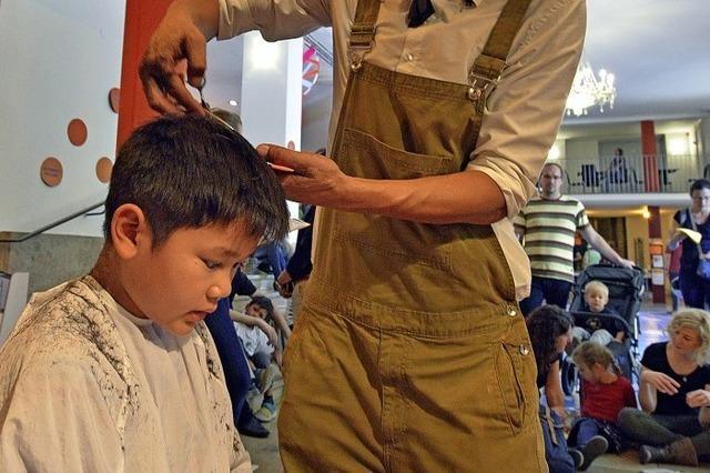 Ein Friseur, der Geschichten liebt
