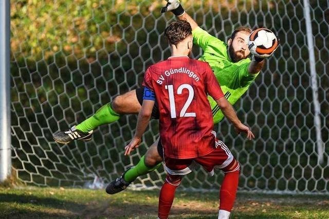 Mit Wille und ein wenig Glück kommt der SV Gündlingen zu einem Punktgewinn gegen Neuenburg