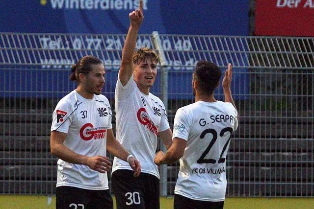 FC 08 Villingen klettert nach erneutem Sieg auf Rang zwei