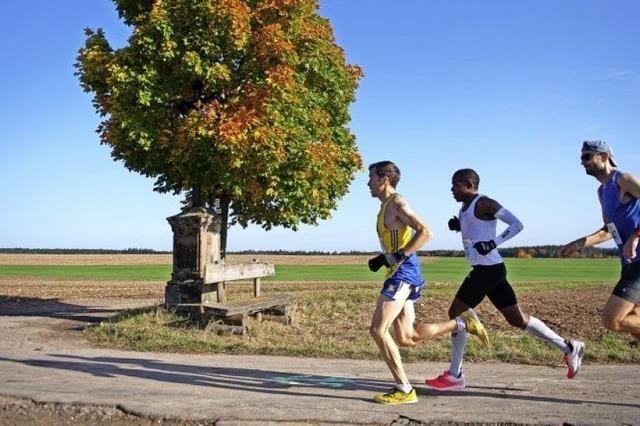 Marathon-Neulinge und alte Hasen