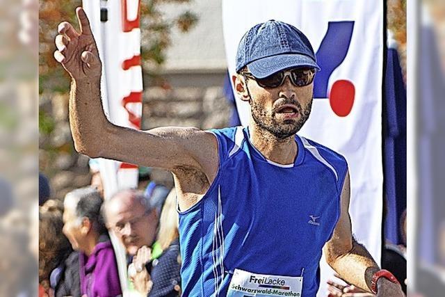 Marathon-Start zum Hochzeitstag