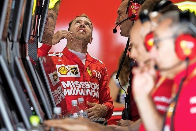 Vettel vergeigt den Start