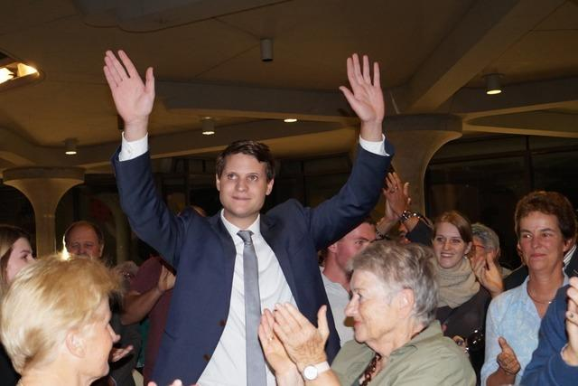 Vincenz Wissler sieht sein neues Amt als Herausforderung an