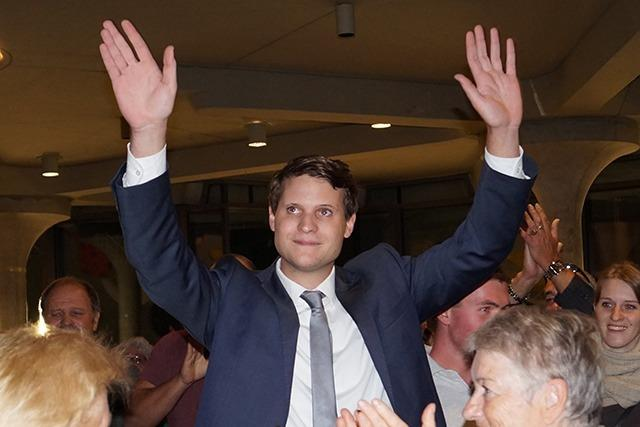 26-jähriger Vincenz Wissler wird Badenweilers Bürgermeister