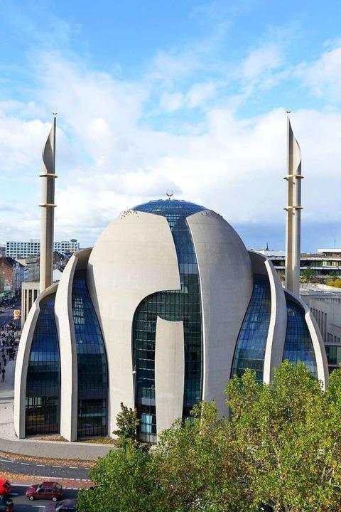 Größte Moschee Deutschlands: die Zentralmoschee Köln  | Foto: Zentralmoschee Köln