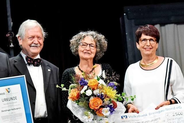 Chorleiterin Monika Holubarsch erhält den Denzlinger Kulturpreis