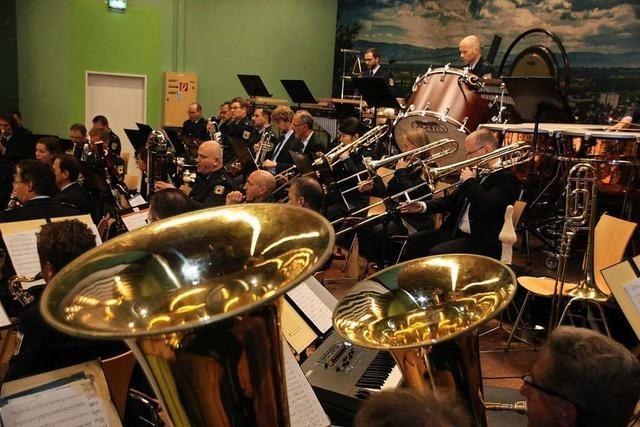 Bundespolizeiorchester spielt in Bötzingen vor 450 Zuhörern