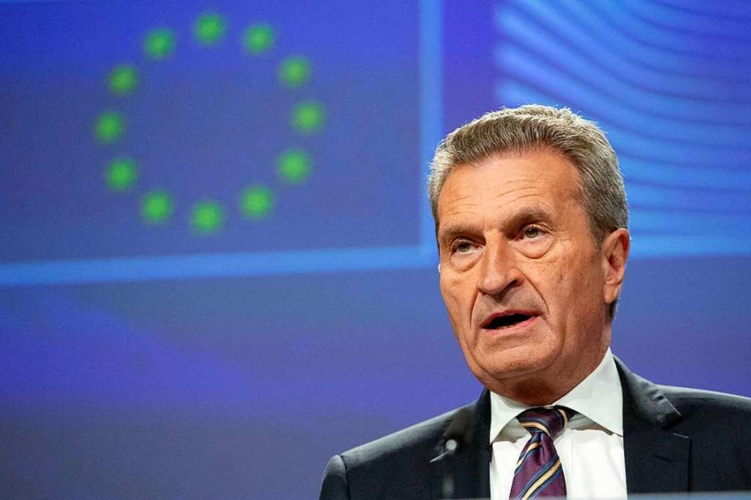 Günther Oettinger verabschiedet sich in den politischen Ruhestand  | Foto: Virginia Mayo (dpa)
