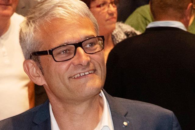Martin Löffler ist neuer Bürgermeister von Müllheim: