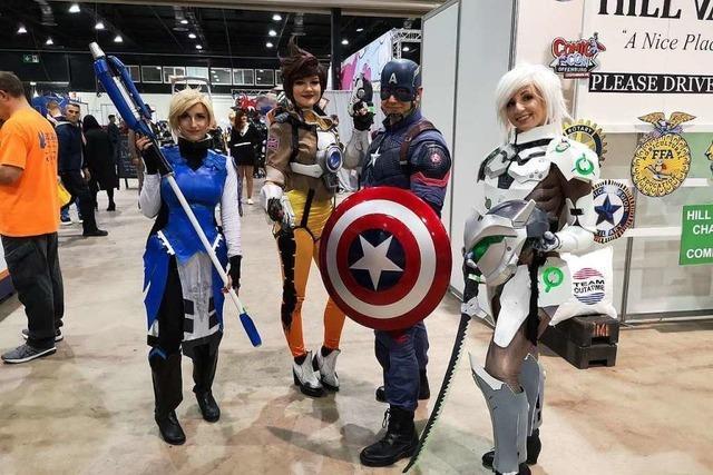 Bei der Comic Con waren die Besucher den Fantasy-Stars auf den Fersen