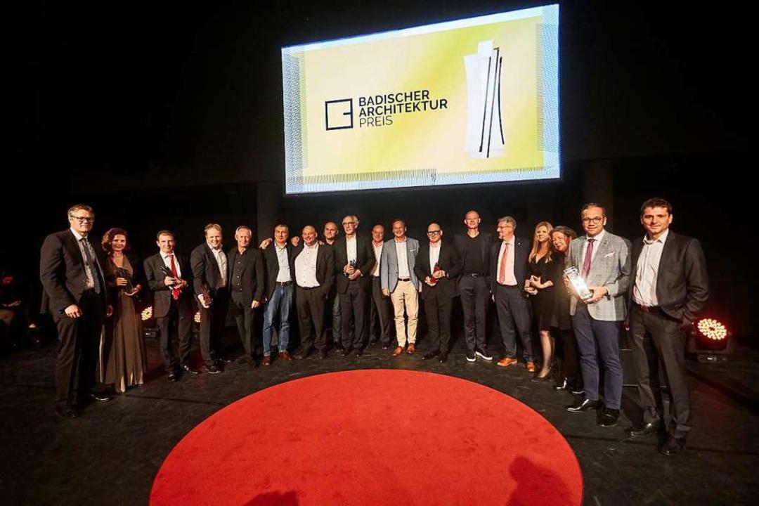 Der erste Badische Architekturpreis is...schen Forums am Rhein vergeben worden.  | Foto: Michael Bode