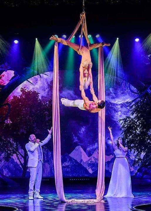 Am 18. Dezember feiert der Weihnachtscircus Premiere.  | Foto: Weihnachtscircus