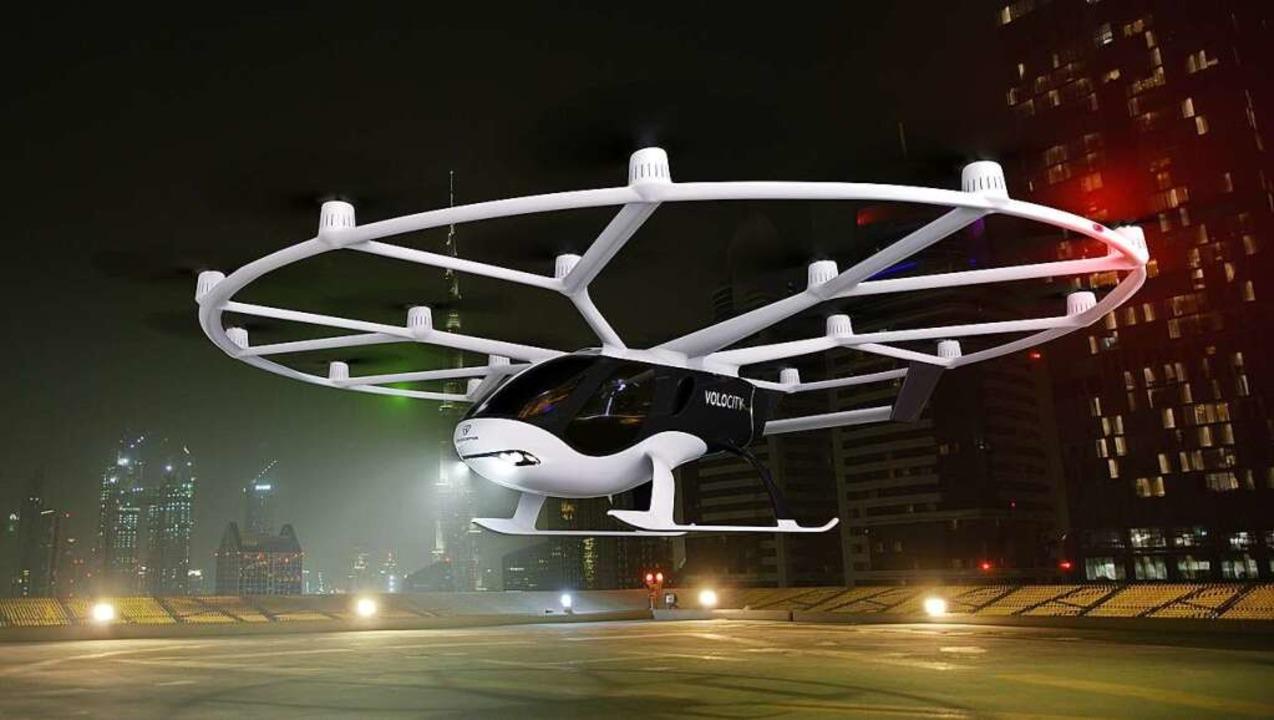 Ein Volocopter der neusten Generation.  | Foto: bz