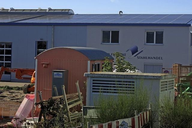 Sonnenstrom für 50 Haushalte
