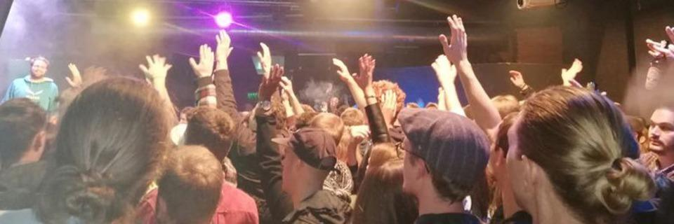 Wie fudders Nightlife-Guru den Rap Anker im Artik erlebt hat