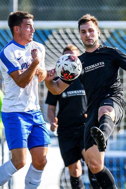 Nur nicht so zaghaft: Der FC Geißlinge...zger) die fünfte Saisonniederlage zu.   | Foto: Gerd Gruendl
