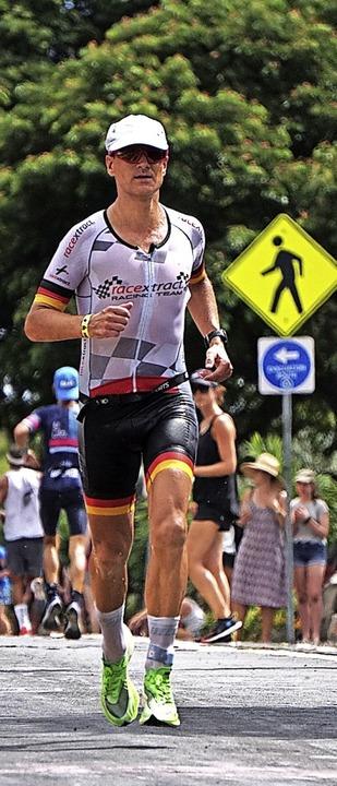 War mehr als zufrieden mit seiner Laufleistung: Jörg Scheiderbauer.  | Foto: Fabian Hornstein