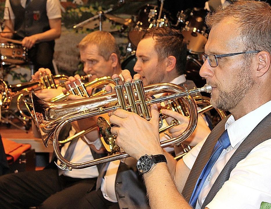 Die Musikkapelle aus Ottenheim wird ihrem guten Ruf gerecht.  | Foto: Reiner Beschorner