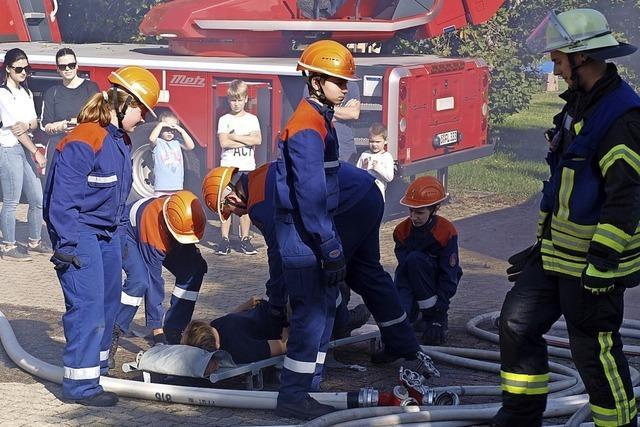 Feuerwehr feiert die Jugend