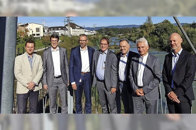 Besuch bei Evonik in Rheinfelden