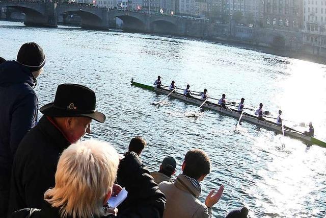 Eine der größten Achterregatten findet in Basel statt