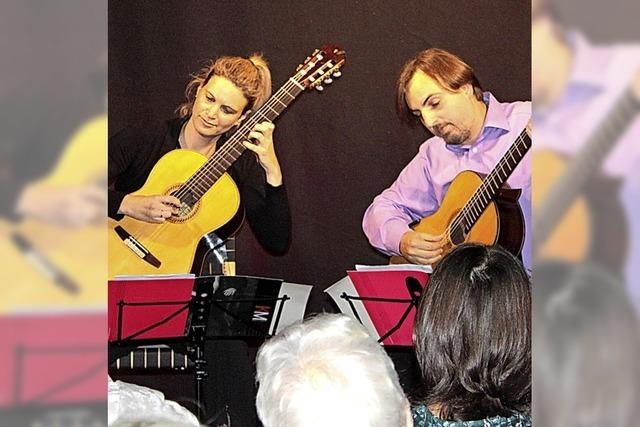 Gitarren-Duo mit Latino-Note