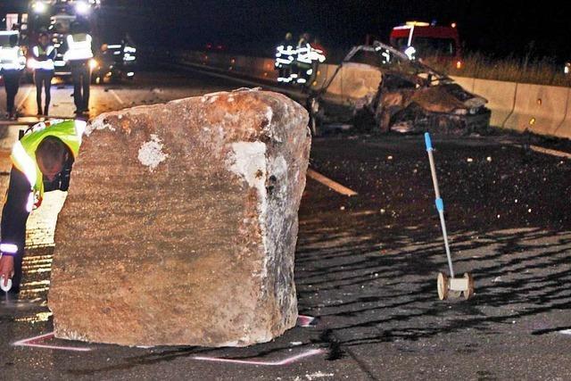 Geologe zum Fels-Unfall auf der A81: