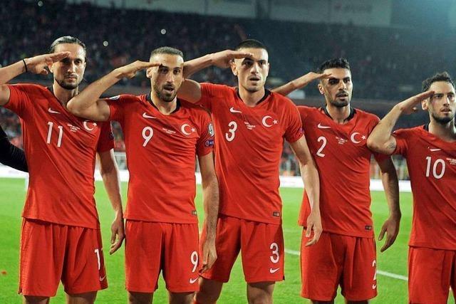 Nach Salut-Jubel: Uefa leitet Verfahren gegen Türkei ein