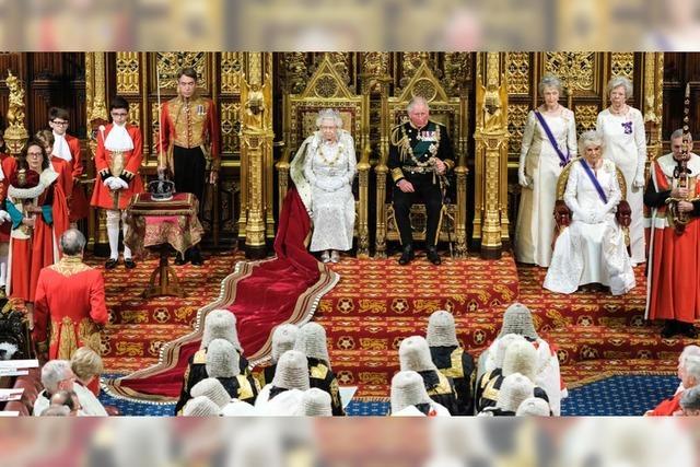 Queen verliest Regierungserklärung