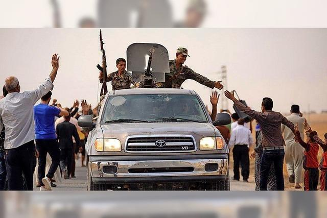 Kurden rufen Assad zu Hilfe