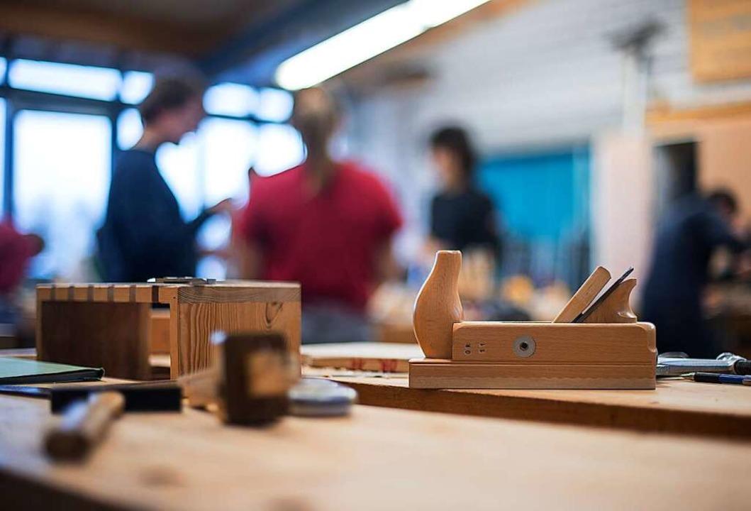 Schreiner haben täglich mit Holzstaub zu tun.     Foto: Sebastian Gollnow